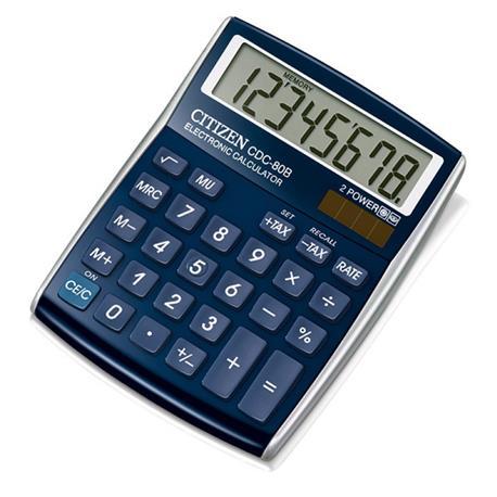 Kalkulator Citizen CDC-80 BLWB 8 p.*-21676