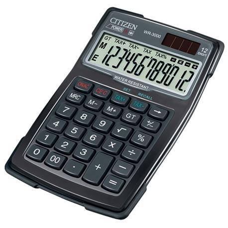 Kalkulator Citizen WR-3000 wodoodporny 12 p.*-21681