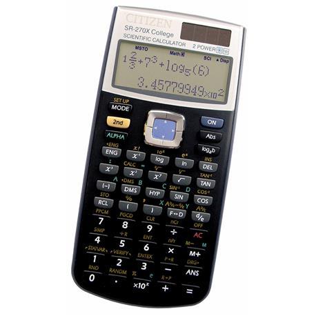 Kalkulator Citizen SR-270XCFS naukowy 12 p.*-19844
