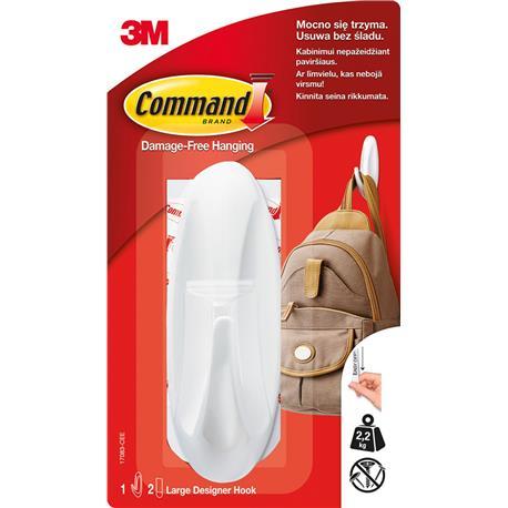 Haczyk Command Desinger 2,2kg biały-22022