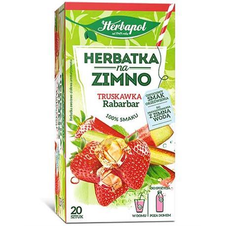 Herbata Herbapol na zimno Truskawka Rabarbar (20)-22031