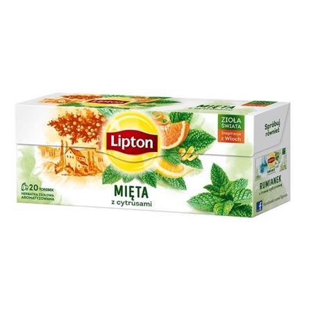 Herbata Lipton Mięta z cytrusami 20 t *-22050