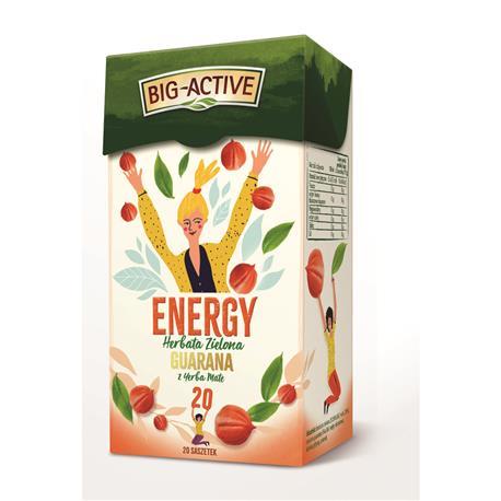 Herbata Big-Active zielona Energy (20)-22055