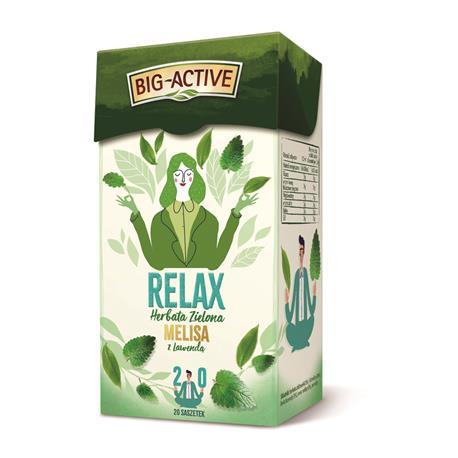 Herbata Big-Active zielona Relax (20)-22056