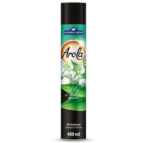 Odświeżacz Arola spray 400ml Konwaliowy-22274