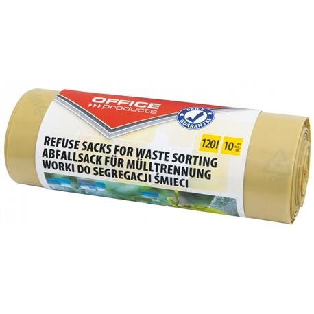 Worki do segr.plastiku 120l (10) Office Product-22263