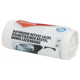 Worki 20l łazienkowe białe Office Products (40)