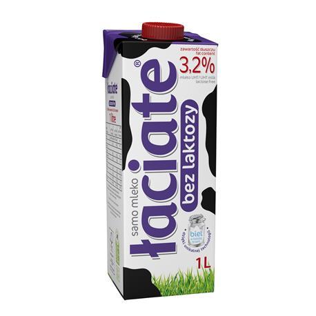 Mleko Łaciate bez laktozy 1,5% 1L -22391