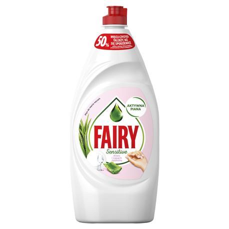 Płyn do naczyń Fairy 900l Aloes i zapach Jaśminu-22460