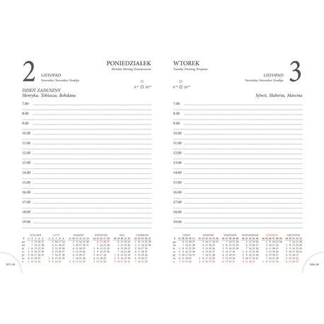 Kalendarz książk.A5 Beskidy K6 ukł.dzienny-22558