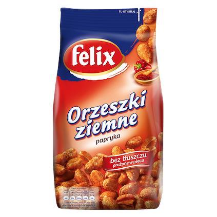 Felix Orzeszki Crispers z papryką w torbie 240g-22766