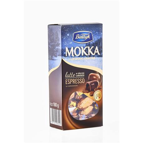 Cukierki Bałtyk Likworki Mokka 180g-22908