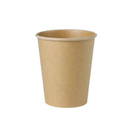 Kubek papierowy 200ml kraft (50)-23087