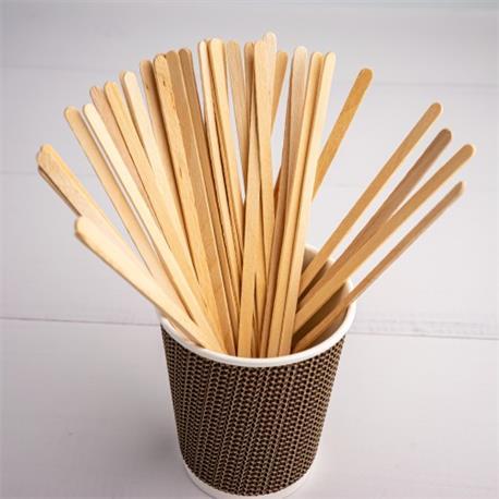 Mieszadełka drewniane 150mm (100)-23062