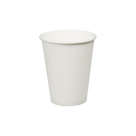 Kubek papierowy 250ml biały (50)-23077