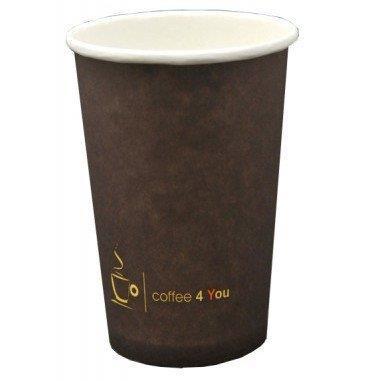 Kubek papierowy 300ml Coffe 4 You (50)-21074
