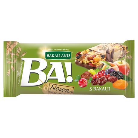 Baton Bakalland BA! 5 bakali zbożowy 40g-23182