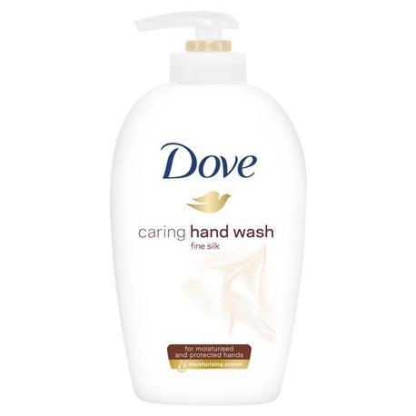 Mydło w płynie Dove Fine Silk 250ml pompka-23575