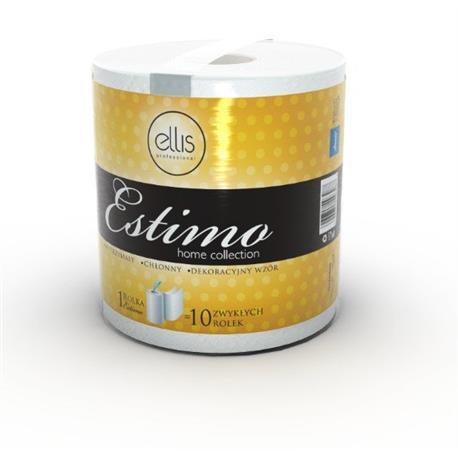 Ręcznik w roli Lamix Ellis Estimo R100/2 biała cel-23722