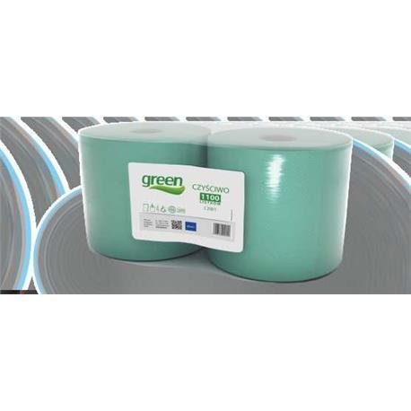 Czyściwo Green 250/1 zielona makulatura (2szt)9041-23723