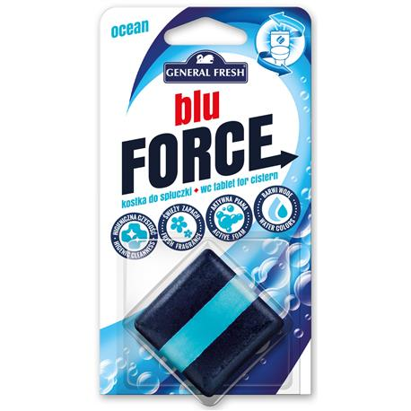 Kostka WC do spłuczki GeneralFresh50gBluForceMorze-23854