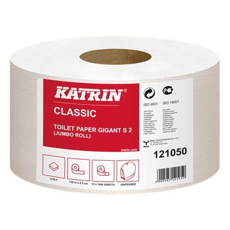 Papier toal.Jumbo Katrin 2w biała makulatura (12)-23317