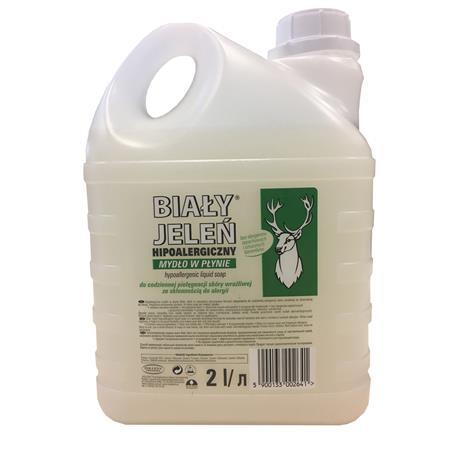 Mydło w płynie 2L Biały Jeleń hipoalergiczne-24022