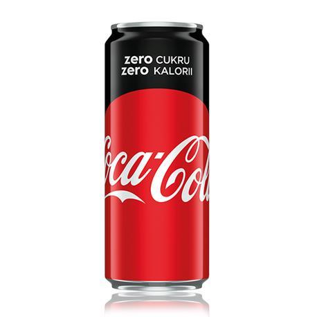 Coca-Cola zero puszka 200ml x 24 szt-24079