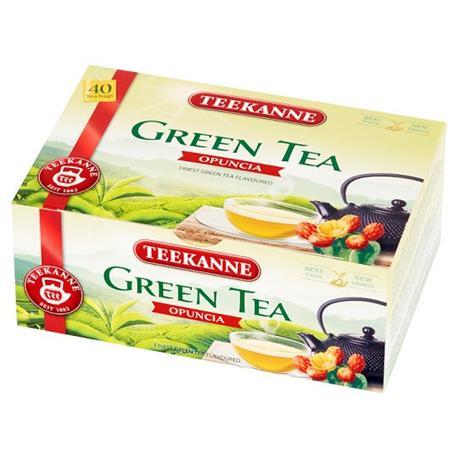 Herbata Teekanne Green Tea Opuncia ekspresowa 40t*-24425