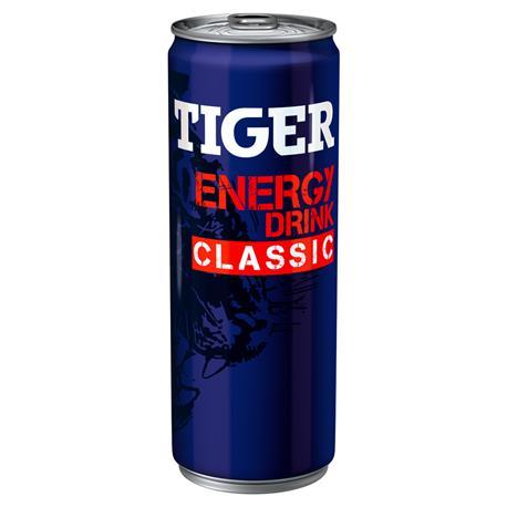 Napój Tiger energetyzujący 250mlx6 puszka -24429