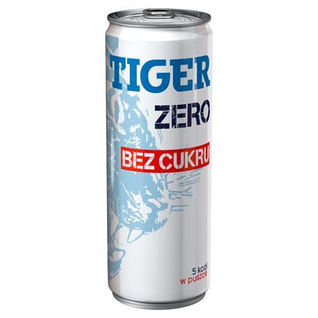 Napój Tiger energetyzujący bez cukru 250mlx6 pusz-24430