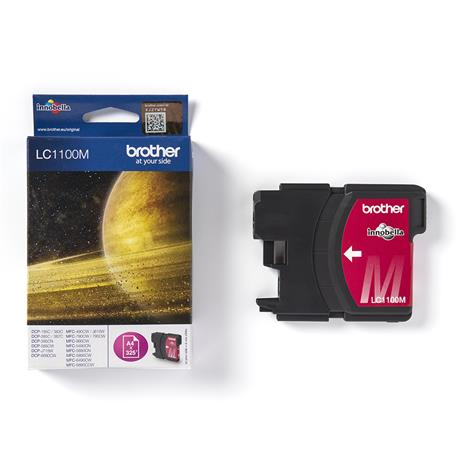 Tusz Brother LC1100M Magenta na 325 stron-24495