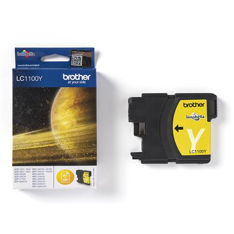 Tusz Brother LC1100Y Yellow na 325 stron-24494
