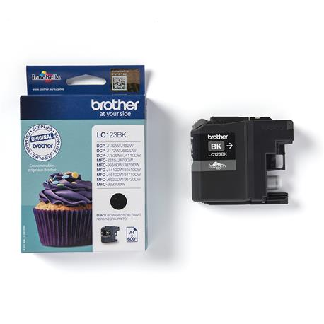 Tusz Brother LC123BK black na 600 stron-24513