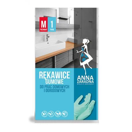 Rękawice gospodarcze Anna Zaradna M zielone-24611