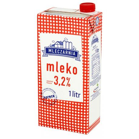 Mleko Mleczarnia 2% 1L -24728
