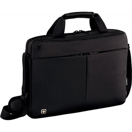 "Torba na laptopa Wenger Slim Format 14"" czarna-24766"