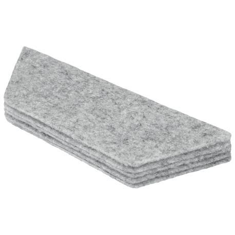 Komplet wkładek filcowych do gąbki magn. białej No-24864
