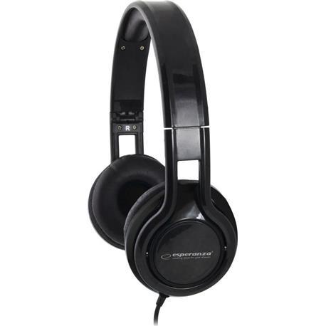 Słuchawki nauszne z mikrofonem Serenade EH211K-25147