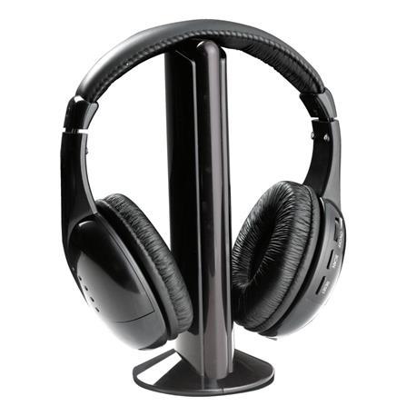Słuchawki nauszne bezprzewodowe FM Liberty TH110-25149