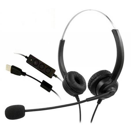 Zestaw słuchawkowy Mediarange z mikrofonem-25145