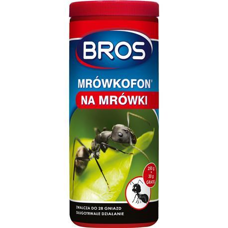 Bros Mrówkofon środek na mrówki 250g + 30g gratis-25661