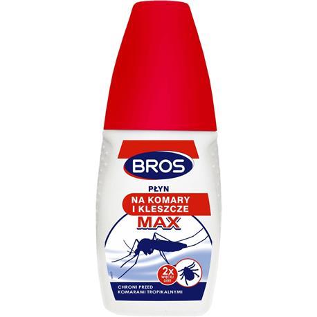 Bros płyn na komary i kleszcze Max 50ml-25671