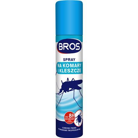 Bros spray na komary i kleszcze 90ml-25673