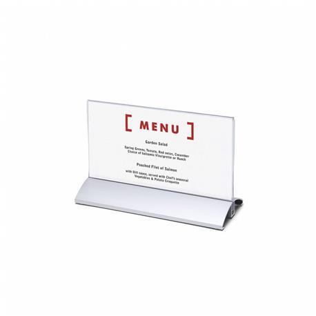 Stojak na menu DL (99x210 mm) alumin.poziomy-26072