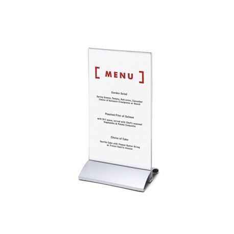 Stojak na menu DL (99x210 mm) alumin.pionowy-26084
