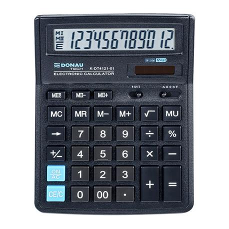 Kalkulator Donau Tech K-DT4121-01 biurowy 12 p.-26459