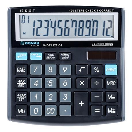 Kalkulator Donau Tech K-DT4122-01 biurowy 12 p.-26501