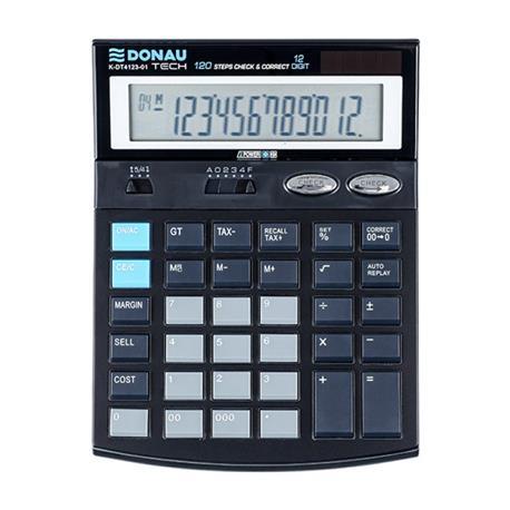 Kalkulator Donau Tech K-DT4123-01 biurowy 12 p.-26505