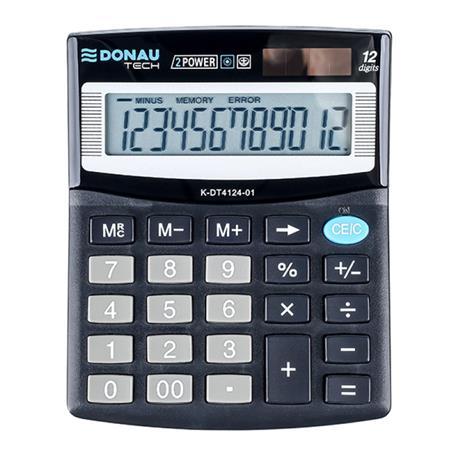 Kalkulator Donau Tech K-DT4124-01 biurowy 12 p.-26509